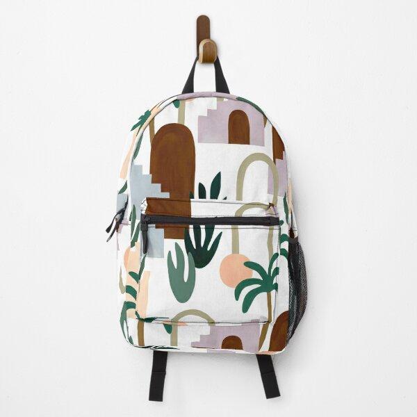 Boho cityscape Backpack