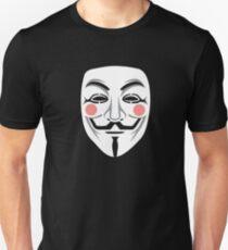 Anonymous/Guy Fawkes mask Unisex T-Shirt