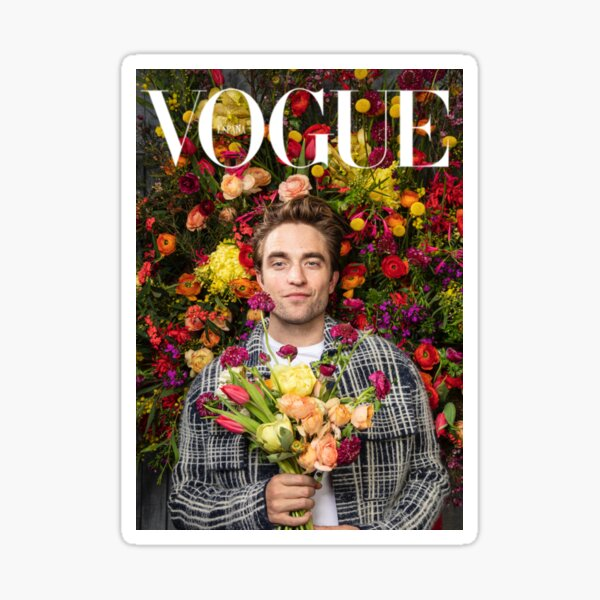 pattinson vogue Sticker