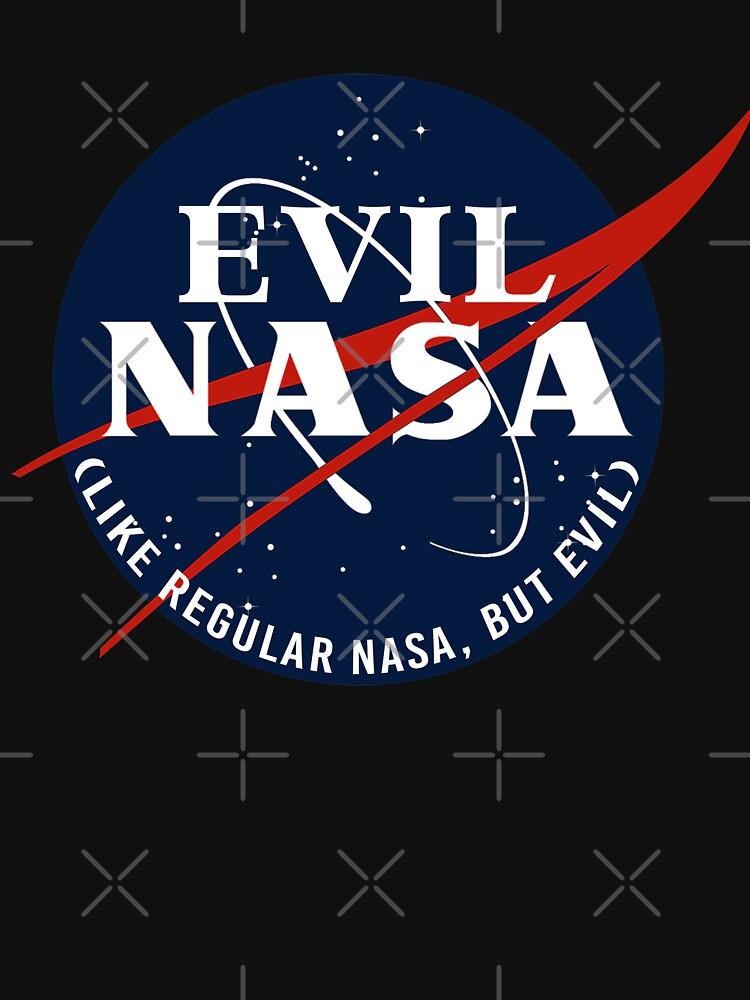 EVIL NASA (like regular nasa, but evil) by goblinbabe