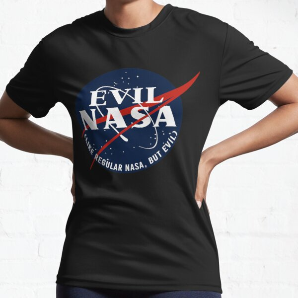 EVIL NASA (like regular nasa, but evil) Active T-Shirt