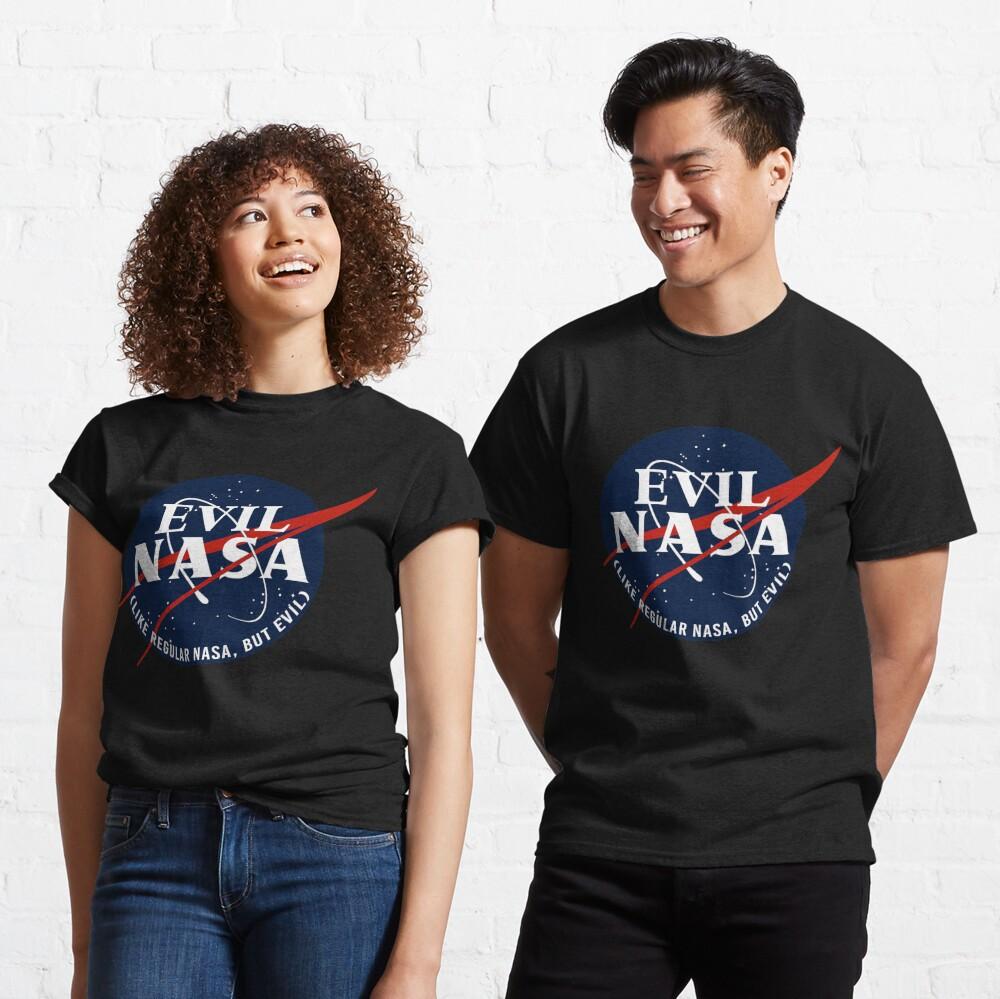 EVIL NASA (like regular nasa, but evil) Classic T-Shirt