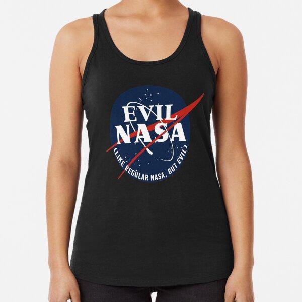 EVIL NASA (like regular nasa, but evil) Racerback Tank Top