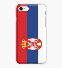Serbia Flag iPhone Case/Skin