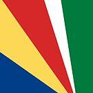 Seychelles Flag by pjwuebker