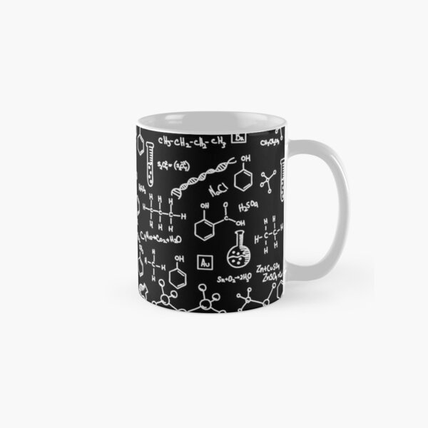 Science Chemistry Pattern  Classic Mug