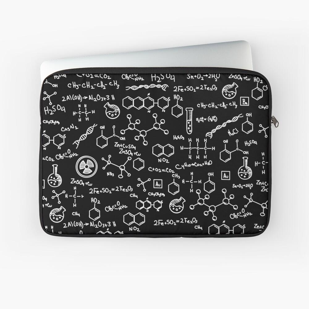 Science Chemistry Pattern  Laptop Sleeve