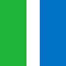Sierra Leone Flag by pjwuebker