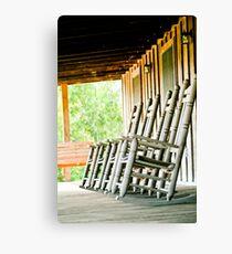 louisiana porch Canvas Print