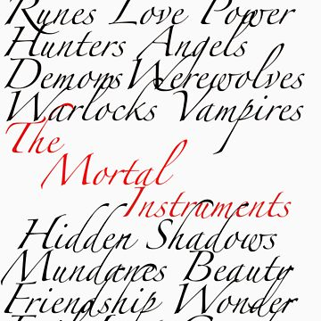 The Mortal Instruments by TMIcommittee