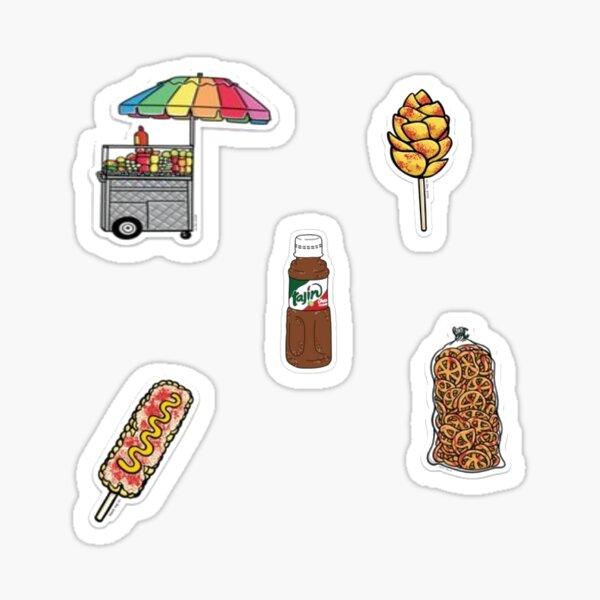 Mexican Snack Sticker pack Sticker