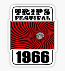 Trips Festival T-Shirt Sticker