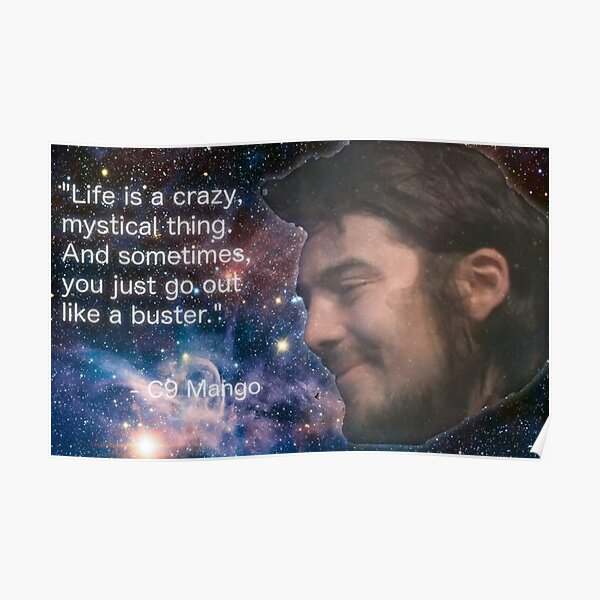 Life is a Crazy Mystical Thing Poster