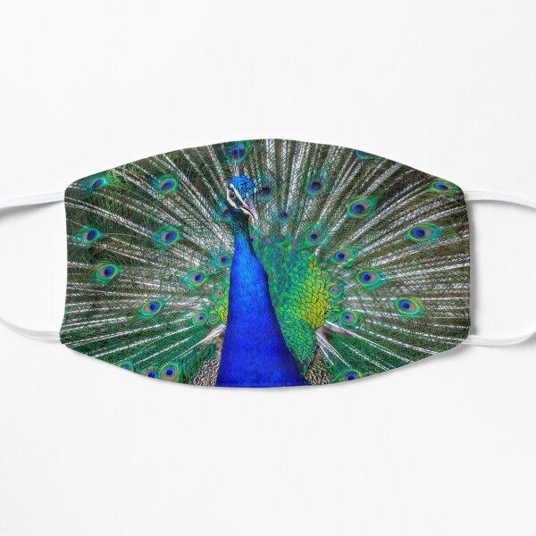 Peacock Flat Mask