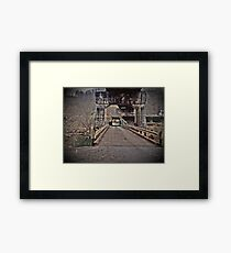 andrew scott bridge antique Framed Print