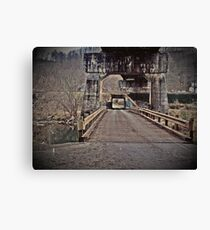 andrew scott bridge antique Canvas Print