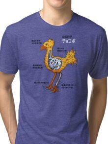 Anatomy of a flightless bird Tri-blend T-Shirt