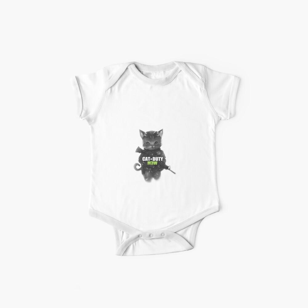 Cat of Duty Ver.2 Body para bebé