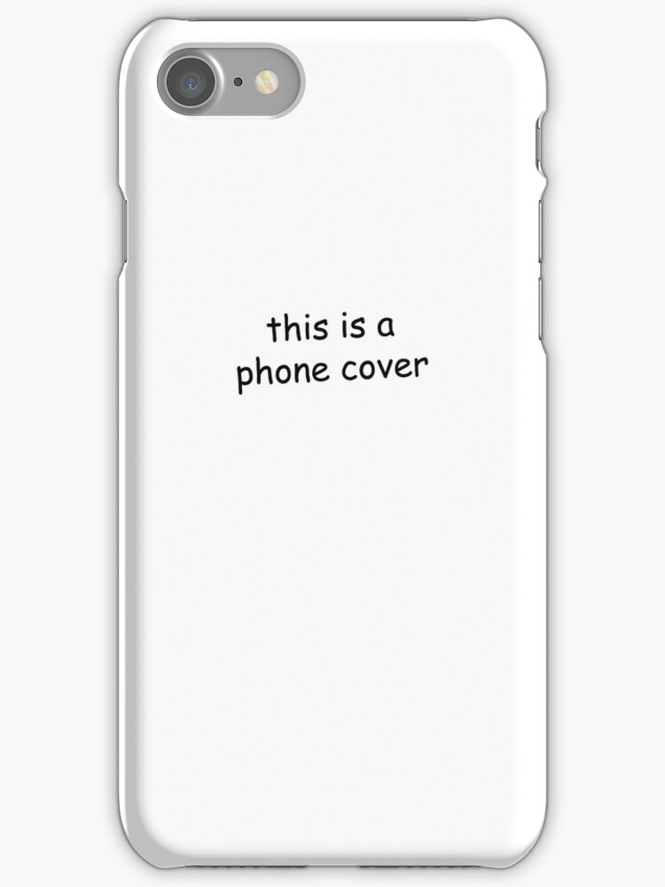 this is a phone cover by marvelcommittee