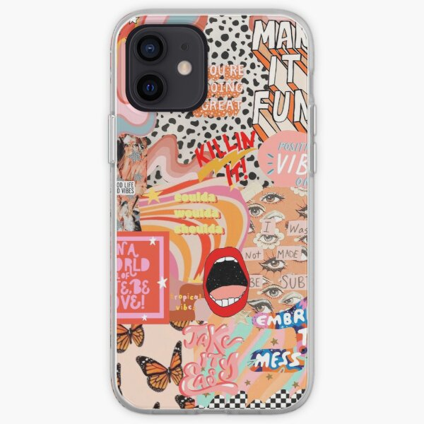 Aesthetic collage vsc iPhone Soft Case