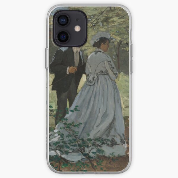 Bazille and Camille Claude Monet iPhone Soft Case