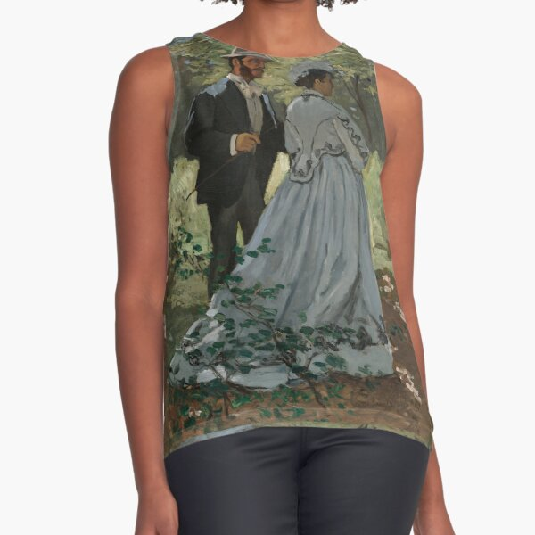 Bazille and Camille|Claude Monet Sleeveless Top