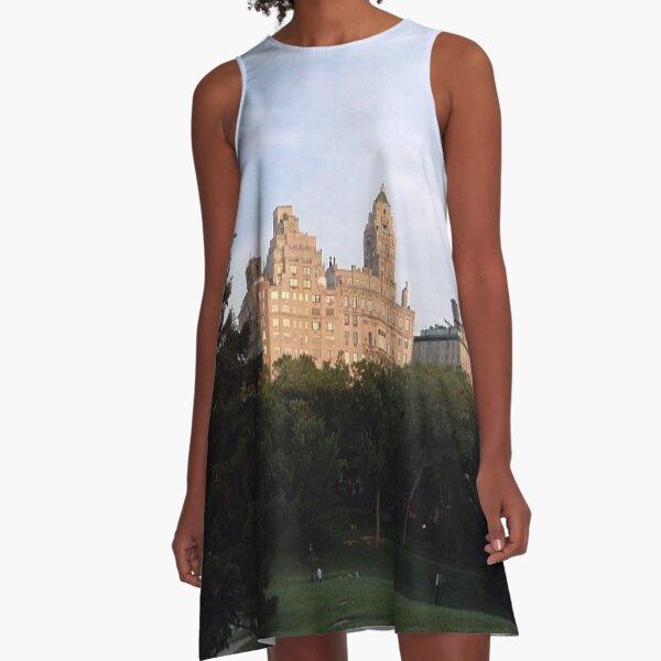 #centropark #Manhattan #NewYork (at Central Park, New York) A-Line Dress