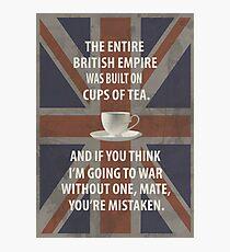 Lock, Stock: Tea Photographic Print
