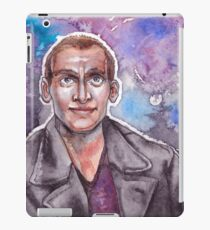 9th Doctor Watercolor iPad Case/Skin