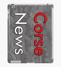CorseNews Support us iPad Case/Skin