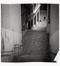 Stairs - Zurich, Switzerland Poster
