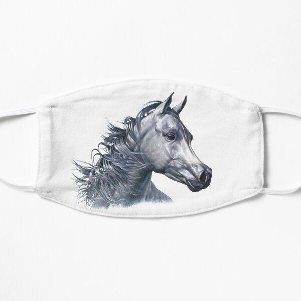 Arabian Horse Portrait Flat Mask