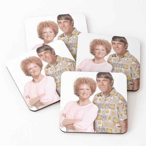 Kath & Kim, Kel Knight Coasters (Set of 4)