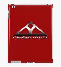 Cyberdine Systems - Red Background iPad Case/Skin