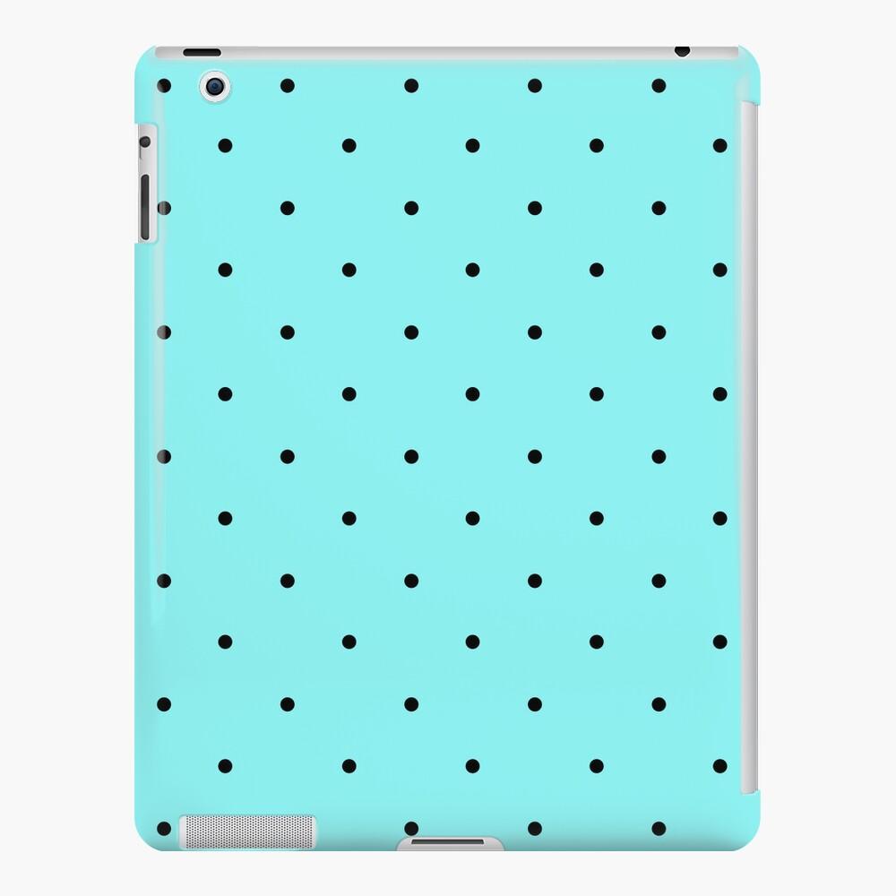 Retro dots on blue iPad-Hülle & Skin