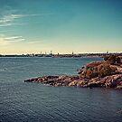 Helsinki - view from Suomenlinna by Michal Tokarczuk