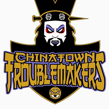 Chinatown Troublemakers by monsterfink