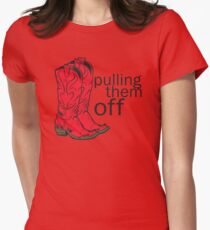 How I met your mother Pulling them off Women's Fitted T-Shirt