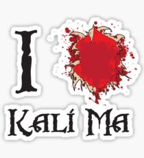 Indiana Jones I love Kali Ma Sticker