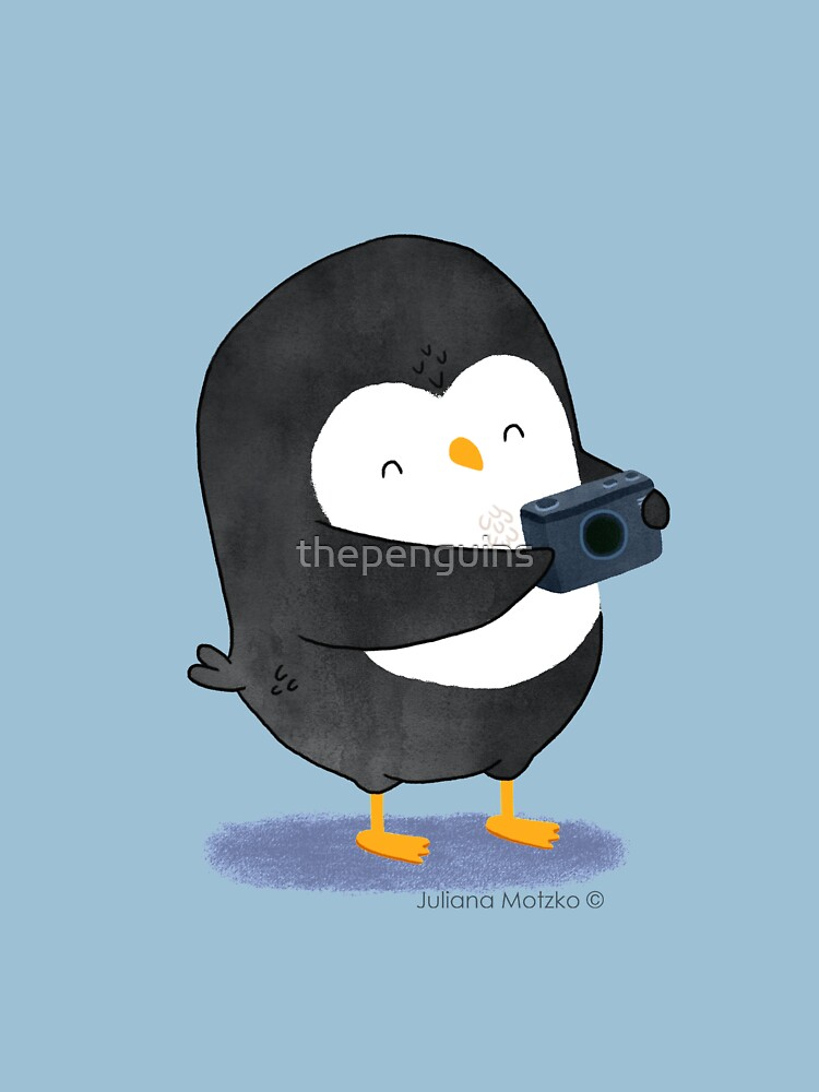 Photographer Penguin by thepenguins