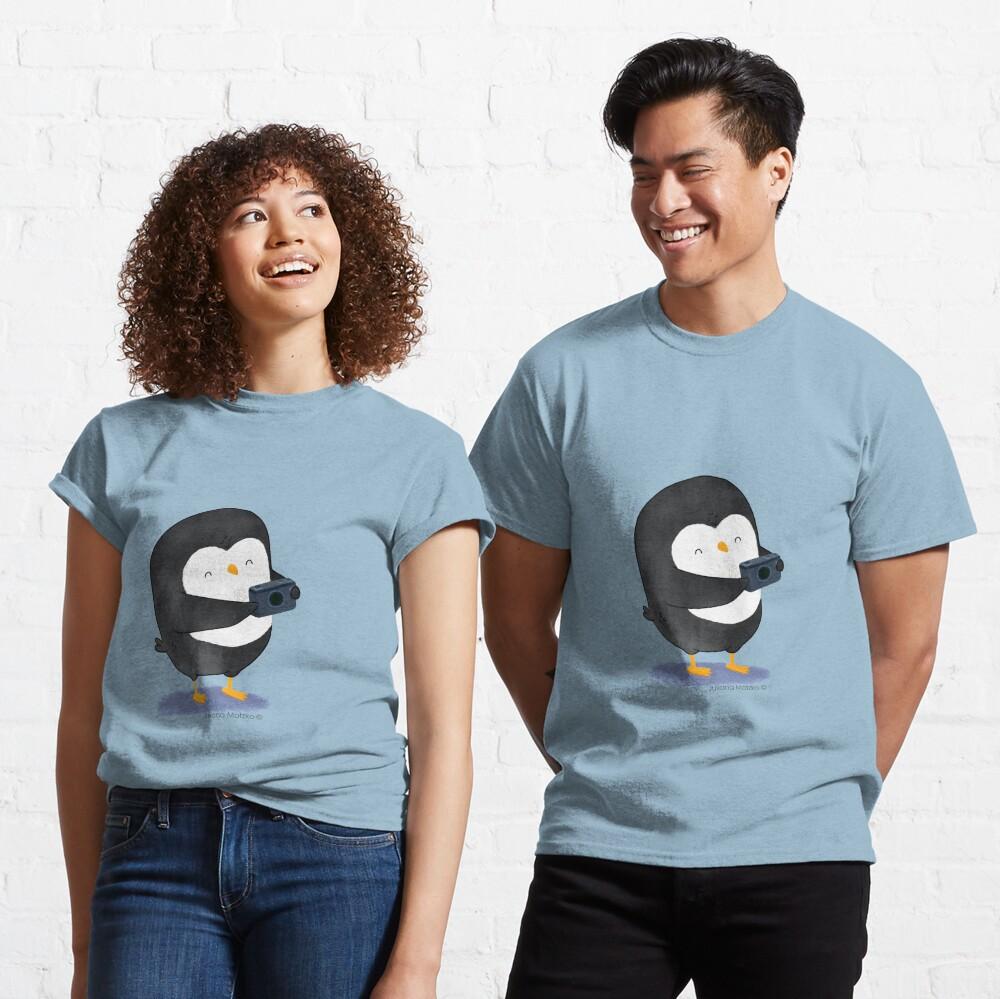 Photographer Penguin Classic T-Shirt