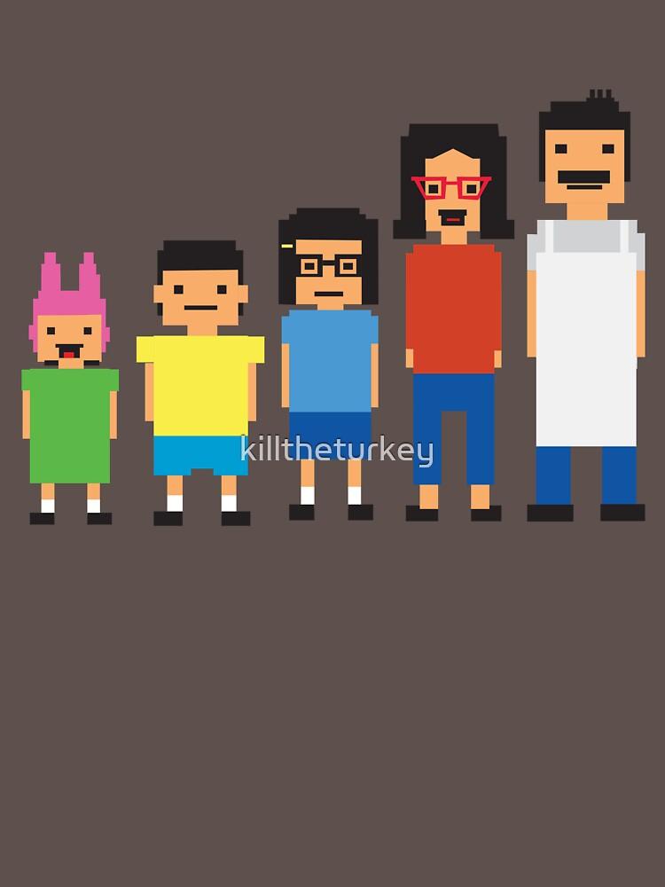 8-Bit Burgers | Unisex T-Shirt