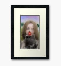 YOUNG CASANOVA Framed Print