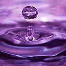 Water droplet by Jennifer Standing
