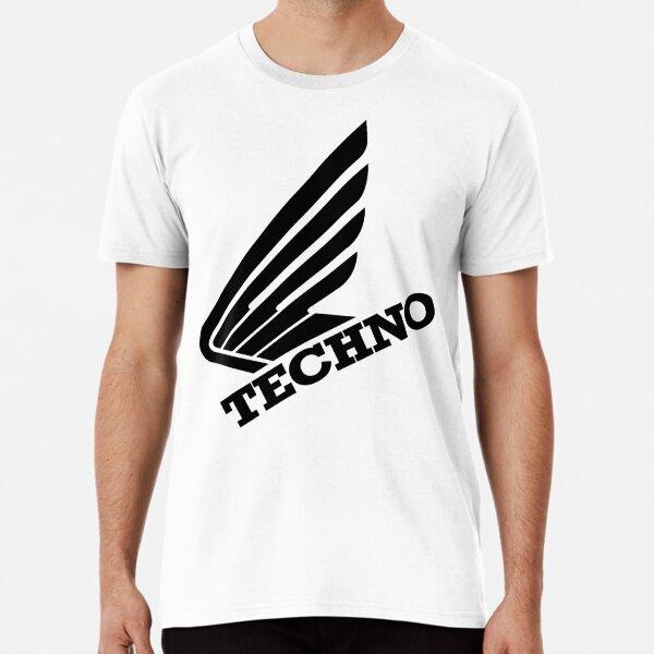 Techno Honda Wing, for electronic music lovers Premium T-Shirt
