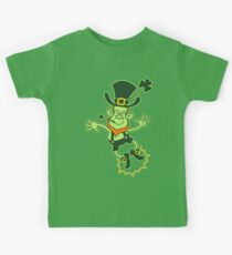 Irish Leprechaun Clapping Feet Kids Clothes