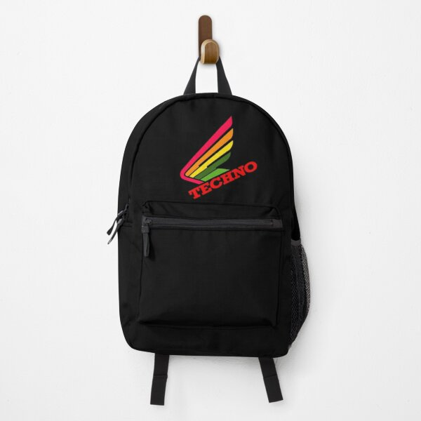 Techno Honda Wing, for electronic music lovers Backpack
