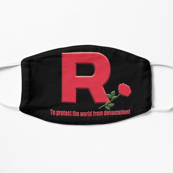 Team Rocket Logo Mask