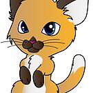 Cute Kitten by Lauren Eldridge-Murray