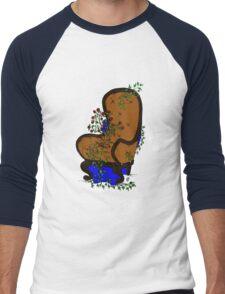 LivingChair Men's Baseball ¾ T-Shirt